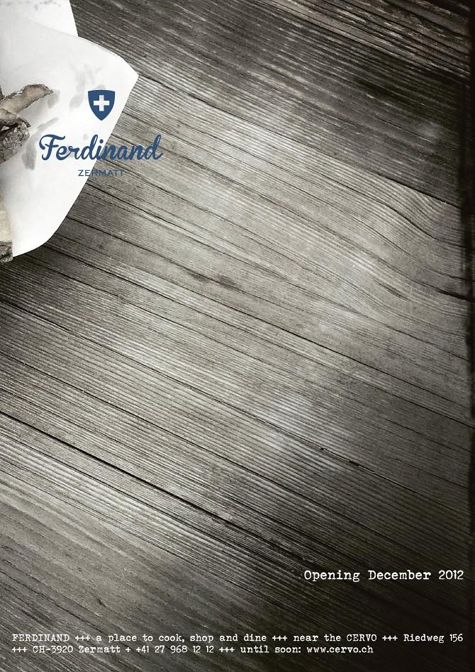 Inserat: Ferdinand