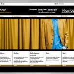 Website Elsaesser Vorhänge by Werbeagentur Bern - Blitz & Donner