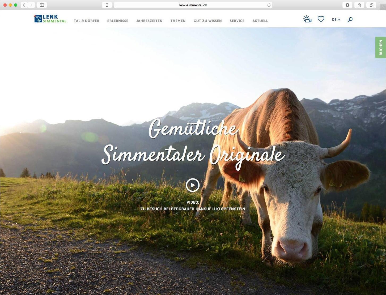 Die beste Destinations-Website der Schweiz