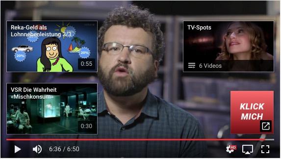 Abspann-Tool Youtube erklärt – Link grafisch